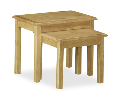Jersey Oak Twin Nest of Tables