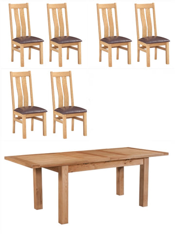 Special Offer. Extending Oak Table & 6 Oak Chairs