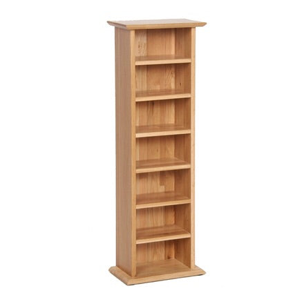Newbury Oak CD/DVD Rack