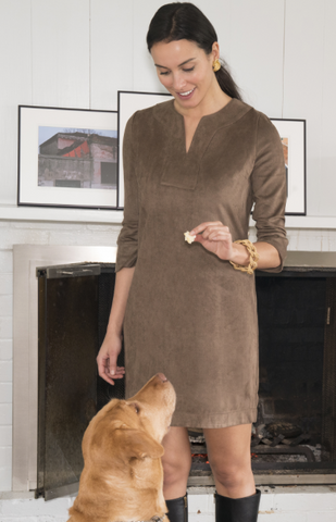 Dress Suede Tunic