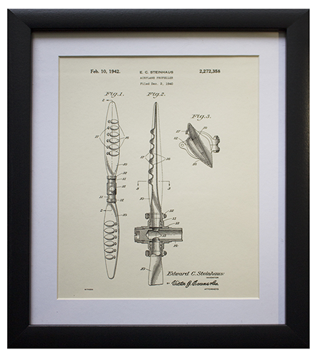 Original Patent Drawing: PROPELLER