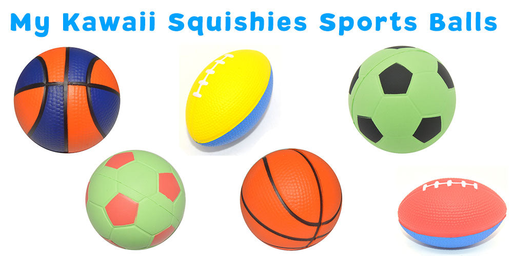 My Kawaii Squishies Sports Balls