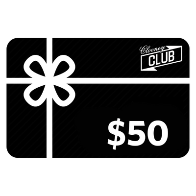 Clooney Club Gift Card