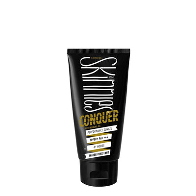 High performance SPF50 and 4-hour water resistant Sungel sunscreen