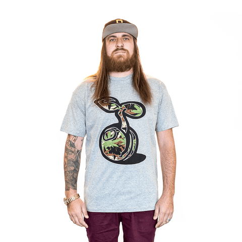TSHIRT - CAMO SEED SPROUT SEEDLESS CLOTHING