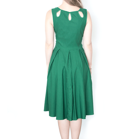 BELLE POQUE LILY DRESS - GREEN