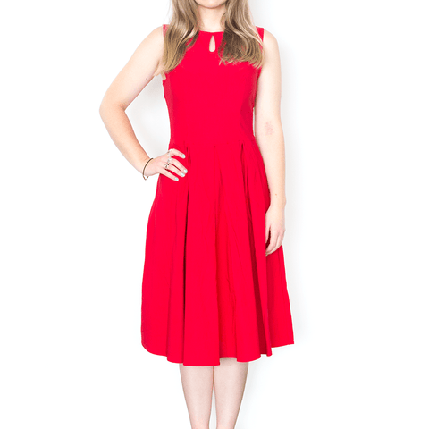 BELLE POQUE LILY DRESS - RED