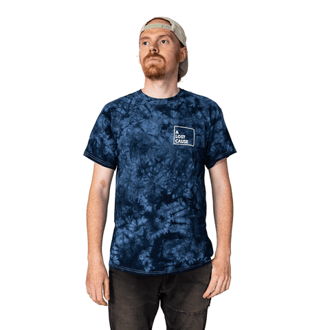 A LOST CAUSE | TROPIX BLUE TIE DYE T-SHIRT - Off Ya Tree