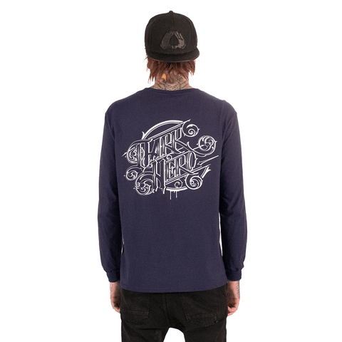 DARK HERO | TATTOO SALOON LONG SLEEVE T-SHIRT - Off Ya Tree