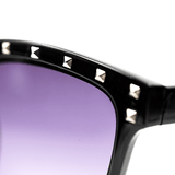SWEET VENGEANCE | BLACK STUDDED SUNNIES - Off Ya Tree