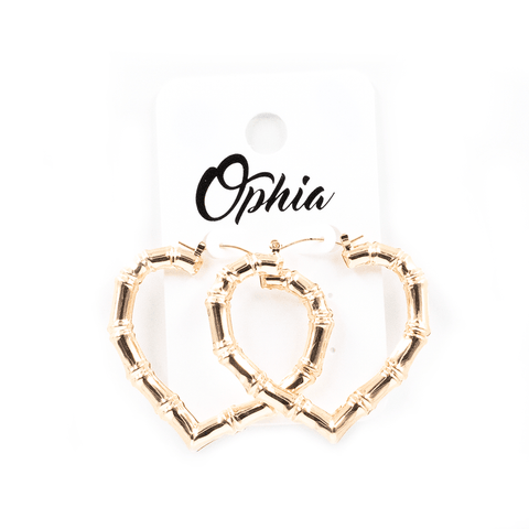 OPHIA | HEART SHAPED TIKI HOOPS - Off Ya Tree