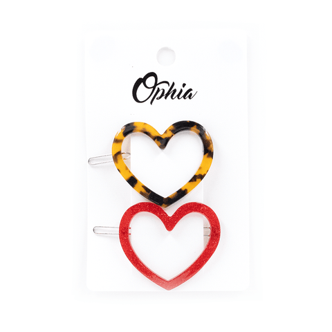 OPHIA | DOUBLE HEARTS CLIPS