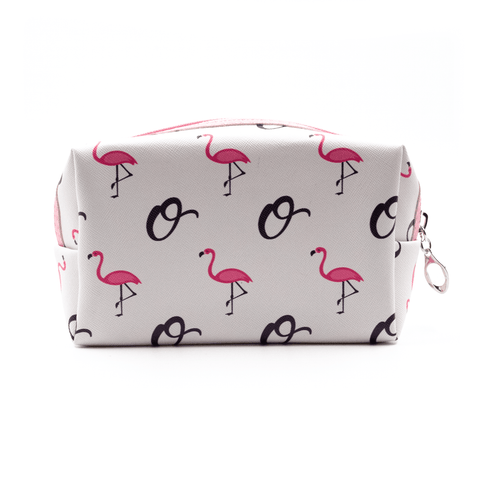 OPHIA | FLAMINGO COSMETIC BAG - Off Ya Tree