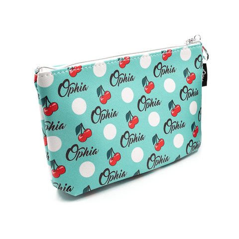 OPHIA | CHERRY COSMETIC BAG - Off Ya Tree