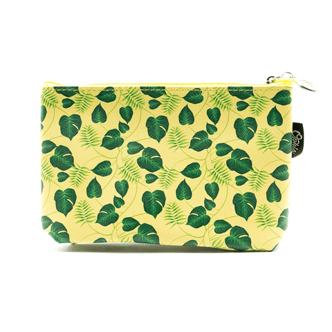 OPHIA | LEAF COSMETIC BAG - Off Ya Tree