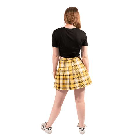 SWEET VENGEANCE | YELLOW PLAID SKIRT - Off Ya Tree