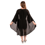 SWEET VENGEANCE | BLACK MESH KIMONO - Off Ya Tree