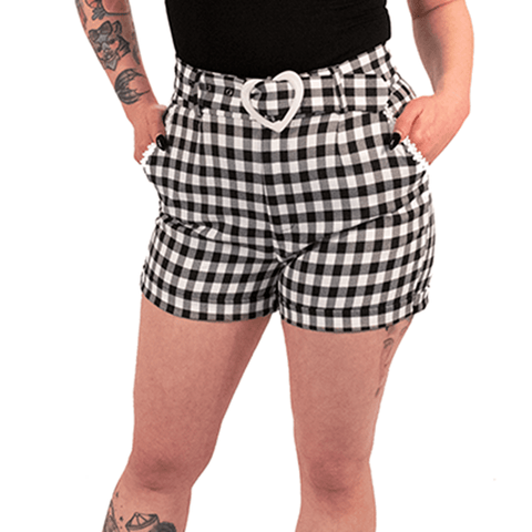 OPHIA | FOR THE LOVE OF PLAID SHORTS