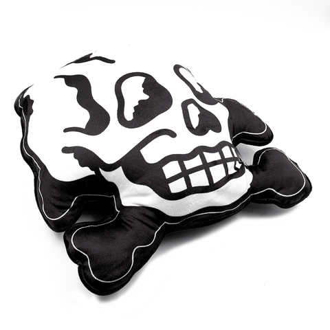 SOURPUSS | SKULL & BONES CUSHION - Off Ya Tree