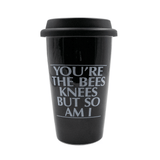 SOURPUSS | YOU'RE THE BEES KNEES TRAVEL MUG