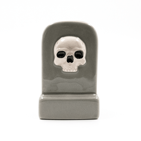SOURPUSS | GREY TOMBSTONE JEWELLERY BOX - Off Ya Tree