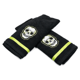SOURPUSS | BLACK PHANTOM SKULL HAND TOWEL SET - Off Ya Tree