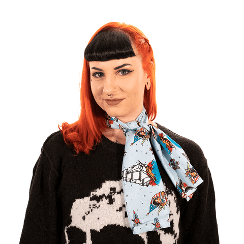 SOURPUSS | BAD GIRL SAILOR SCARF