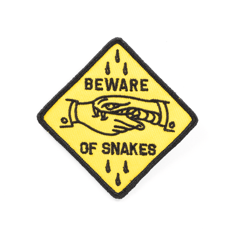 BLC | BEWARE OF SNAKES PATCH - Off Ya Tree