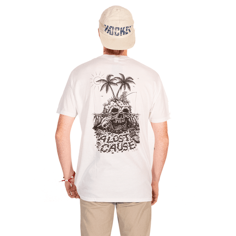 A LOST CAUSE | SKULL ISLAND T-SHIRT - Off Ya Tree