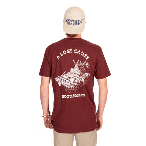 A LOST CAUSE | BOOTLEGGERS T-SHIRT