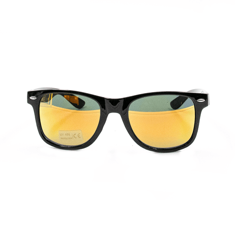 ALC | BRUSHED BLACK AND ORANGE SUNNIES