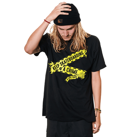 A LOST CAUSE | KEEP SKATEBOARDING T-SHIRT - Off Ya Tree