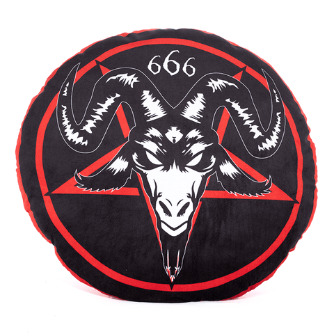 WAKE 'N' BAKE | SATANIC 666 CUSHION - Off Ya Tree