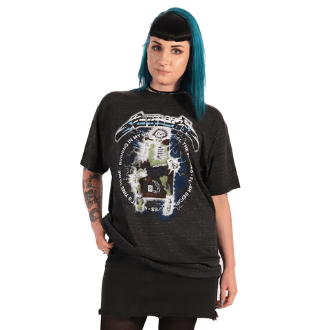 METALLICA | VINTAGE ELECTRIC CHAIR T-SHIRT - Off Ya Tree