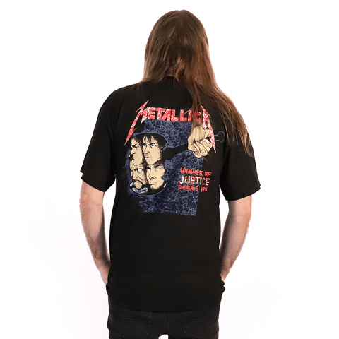 METALLICA | AND JUSTICE FOR ALL NEON T-SHIRT - Off Ya Tree