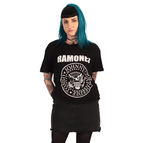 RAMONES | LOGO T-SHIRT - Off Ya Tree