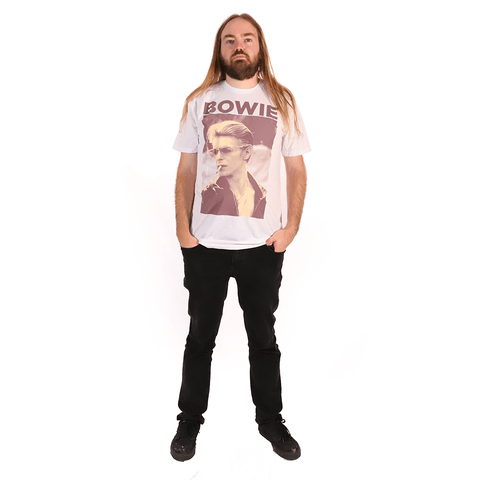 DAVID BOWIE | SMOKING T-SHIRT - Off Ya Tree