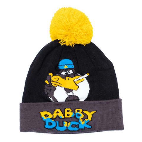 HIGHLINES | DABBY DUCK POM POM BEANIE - Off Ya Tree