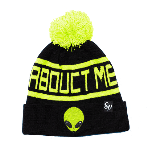 SWEET VENGEANCE | ABDUCT ME ALIEN POM POM BEANIE - Off Ya Tree