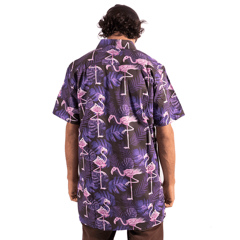 TREE HOUSE CLOTHING | SKELETON FLAMINGO SHIRT