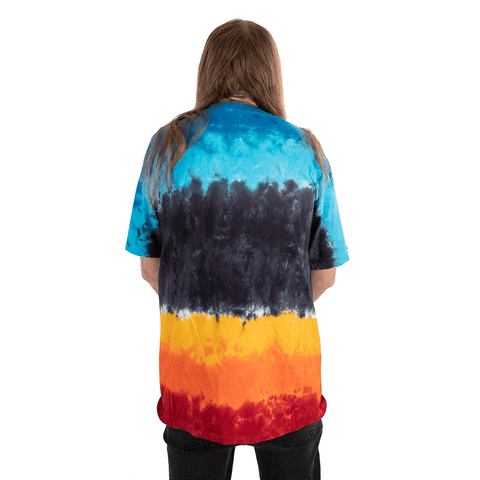 LED ZEPPELIN | US TOUR 1975 TIE DYE T-SHIRT - Off Ya Tree