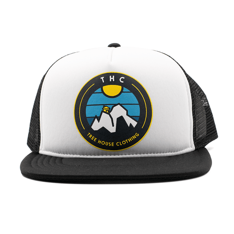 THC | MOUNTAINS TRUCKER HAT - Off Ya Tree