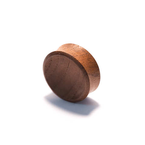 PUNKTURED | BLOOD WOOD DOUBLE FLARED WOODEN PLUG - Off Ya Tree