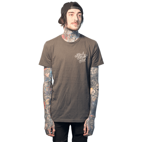 BLACK MARKET | CORMACK TATTOOS 1967 BACK GREY TSHIRT