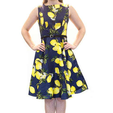 Lemons Pin up summer dress