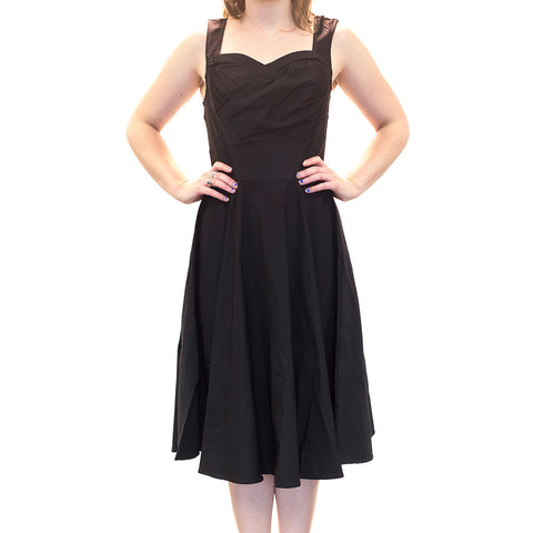 OPHIA | BLACK JESSICA DRESS - Off Ya Tree
