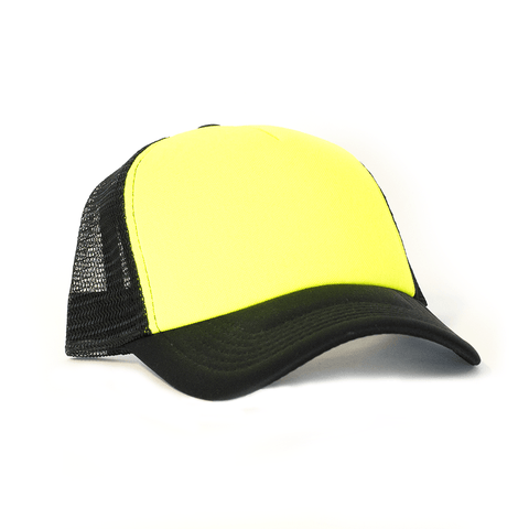 NEON YELLOW TRUCKER SNAPBACK