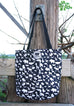 Yazahi Save Animals Tote in Black-YAZAHI