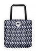 Yazahi Save Animals Tote in Navy-YAZAHI