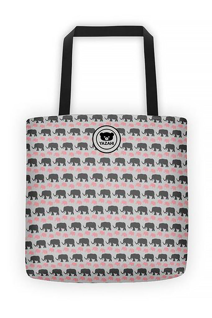 Yazahi Save Animals Tote in Pink-YAZAHI